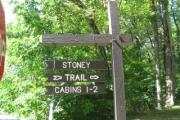 Photo: STO002, Stony Cabin Trails